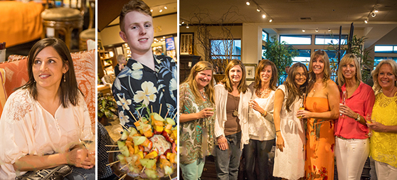Selden's frequently hosts events to unite the community and unveil new collections.  Photo Credit: Phototainment
