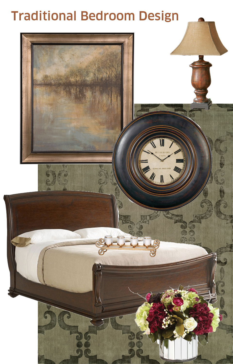 Creating a traditional bedroom masterpiece a puget sound for Bedroom furniture 98409