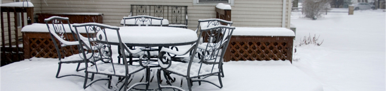 Winterize your outdoor furniture in 5 easy steps a for Furniture in tacoma